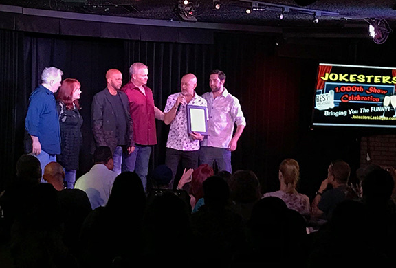 Don Barnhart & Friends Celebrate Jokesters Comedy Club's 1000th Show