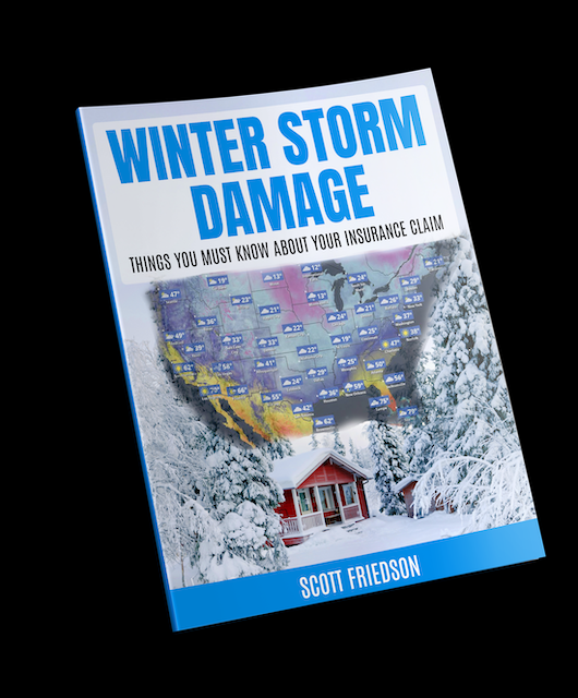 Winter Storm Damage Insurance Claim Report